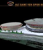 Salon ve stadın çatısı bir arada yapılıyor...