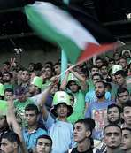 Filistin futbolu y�kseli�te