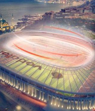 Vodafone Arena'da skandal payla��m