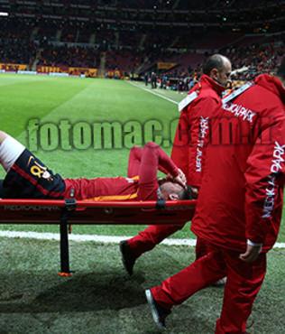 Galatasaray'da sakatl�k �oku