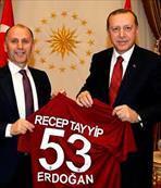 Usta'dan Erdoğan'a ziyaret