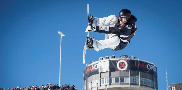 Snowboard'un y�ld�zlar� Erciyes'te bulu�uyor