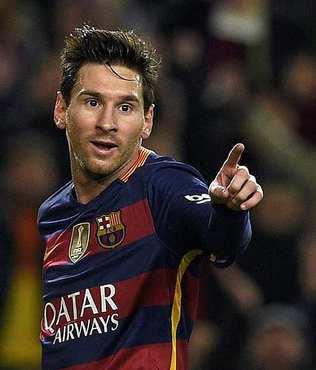Messi 'ay�n oyuncusu' se�ildi
