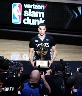 NBA sma� yar��mas�n� yine LaVine kazand�