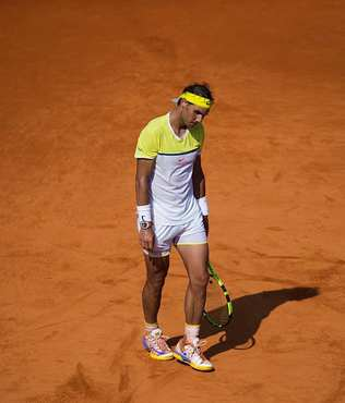 Nadal, yar� finalde elendi