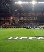 Galatasaray taraftarından müthiş destek