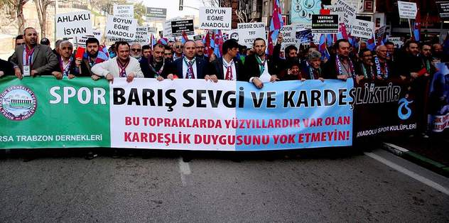 Bursa ve Trabzon'dan ortak protesto
