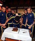 Fabiano'ya sürpriz doğum günü