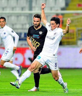Kas�mpa�a 1-1 Osmanl�spor