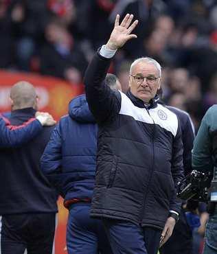 Ranieri'ye tebrik ya��yor