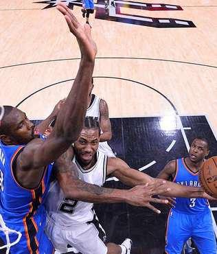Thunder, Spurs deplasman�nda galip