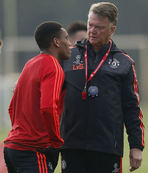Van Gaal may rest Martial for trip to West Ham