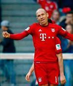 Şimdi sıra Robben'de