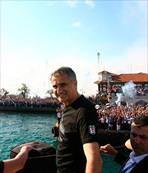 Trabzon'da tekne ile tur atardık şimdi yat ile attık