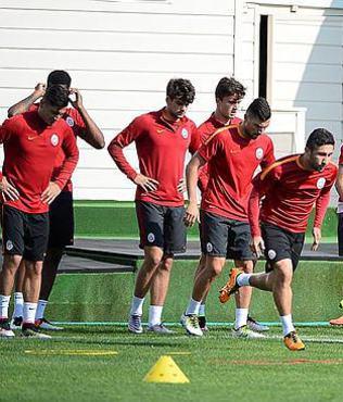 Galatasaray'�n Fenerbah�e kadrosu belli oldu