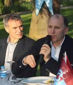 Trabzonspor camiası yemekte bir araya geldi