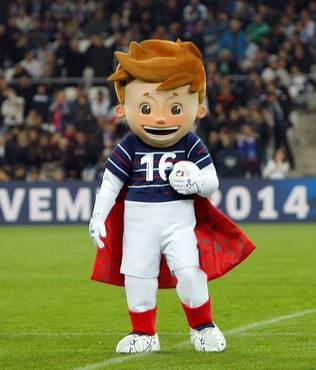 Euro 2016'n�n maskotu sat��a ��kt�