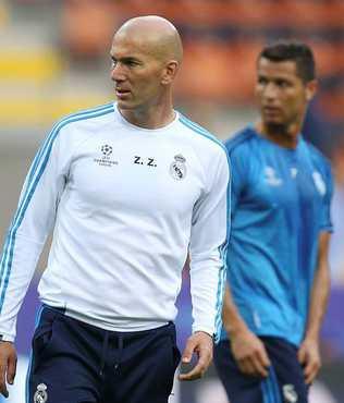 Zidane: Atletico'ya haz�r�z