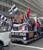 ABD sokaklarında Beşiktaş coşkusu