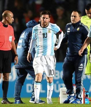 Messi sakatland�!