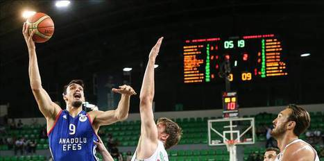 Anadolu Efes advances to finals