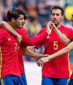 İspanya'dan gollü prova