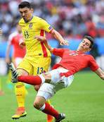 Switzerland, Romania match ends in 1-1 draw
