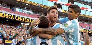 Arjantin parçaladı