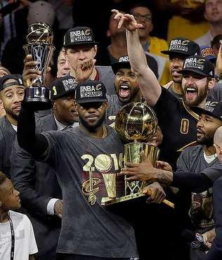 LeBron named MVP of 2016 finals