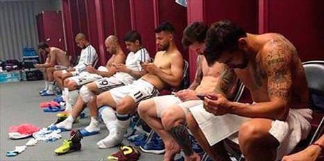 Bedava wi-fi bulan Arjantinliler...