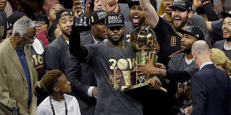 LeBron named MVP of 2016 finals
