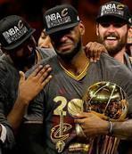 LeBron ve ekibi tarih yazdı