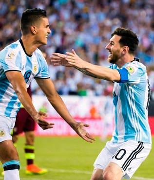 Messi, ABD'ye karşı