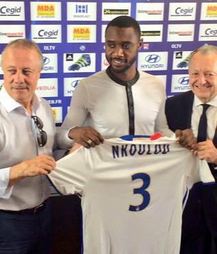 N'Koulou'yu Lyon kapt�