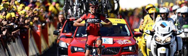 5. etabı van Avermaet kazandı
