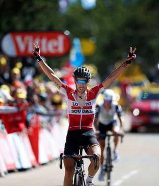 12. etabı De Gendt kazandı