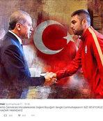 Burak'tan Cumhurba�kan�'na destek mesaj�