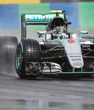Macaristan'da pole pozisyon Rosberg'in
