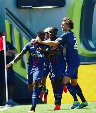 PSG, Inter'i 3-1 ile ge�ti