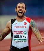 Guliyev'den Türkiye Rekoru