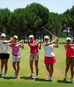 Golfte altın sevinci