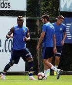 Monaco maçı hazırlıkları sürüyor