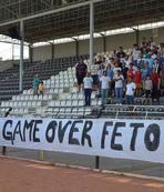 2. Lig'de FETÖ'cü teröristlere tepki