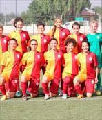 Kızlardan 12 gol