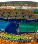 Rio'nun havuzları yosunlandı