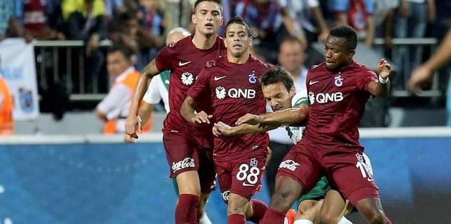 Trabzon'u penaltılar yıktı