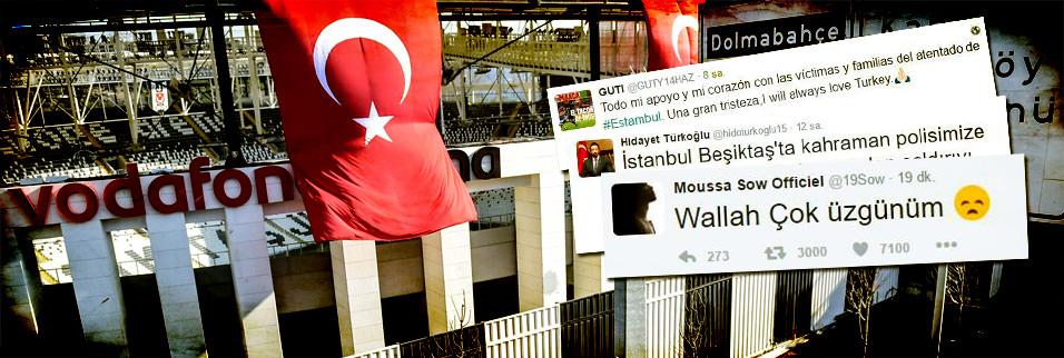 Hain saldırıya Türkiye ve dünyadan tepkiler