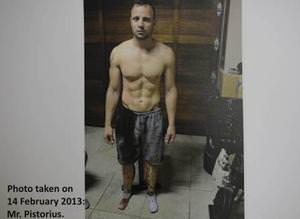 Pistorius'un foto�raflar� yay�nland�