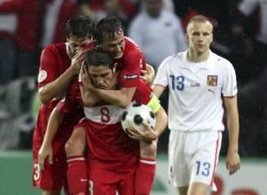 Euro 2008 T�rkiye 3 - 2 �ek Cumhuriyeti