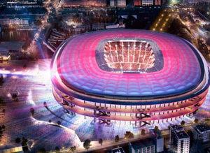 Yeni Camp Nou projesi tanıtıldı